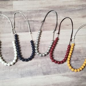 Toddler Beaded Necklaces - Lot of 5 Necklaces